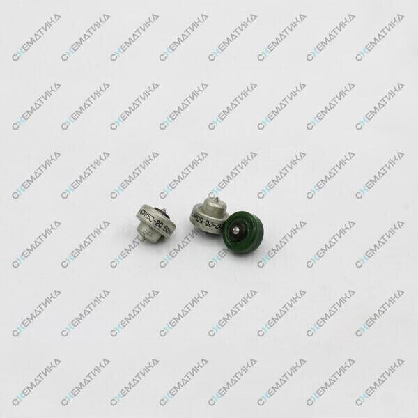 К52-2С (мелкие) чёрная крышка