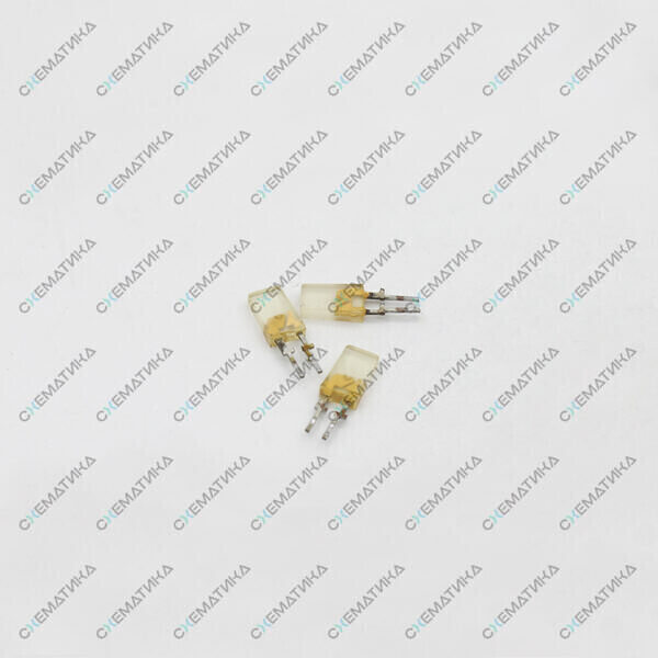 Светодиоды жёлтые контакты внутри